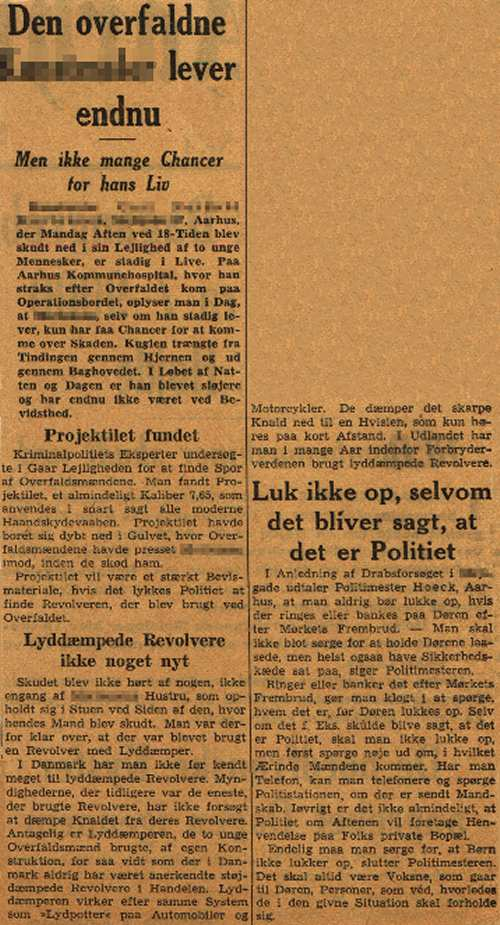The Article is from the arcives at The Occupation Museum in Aarhus, Denmark.